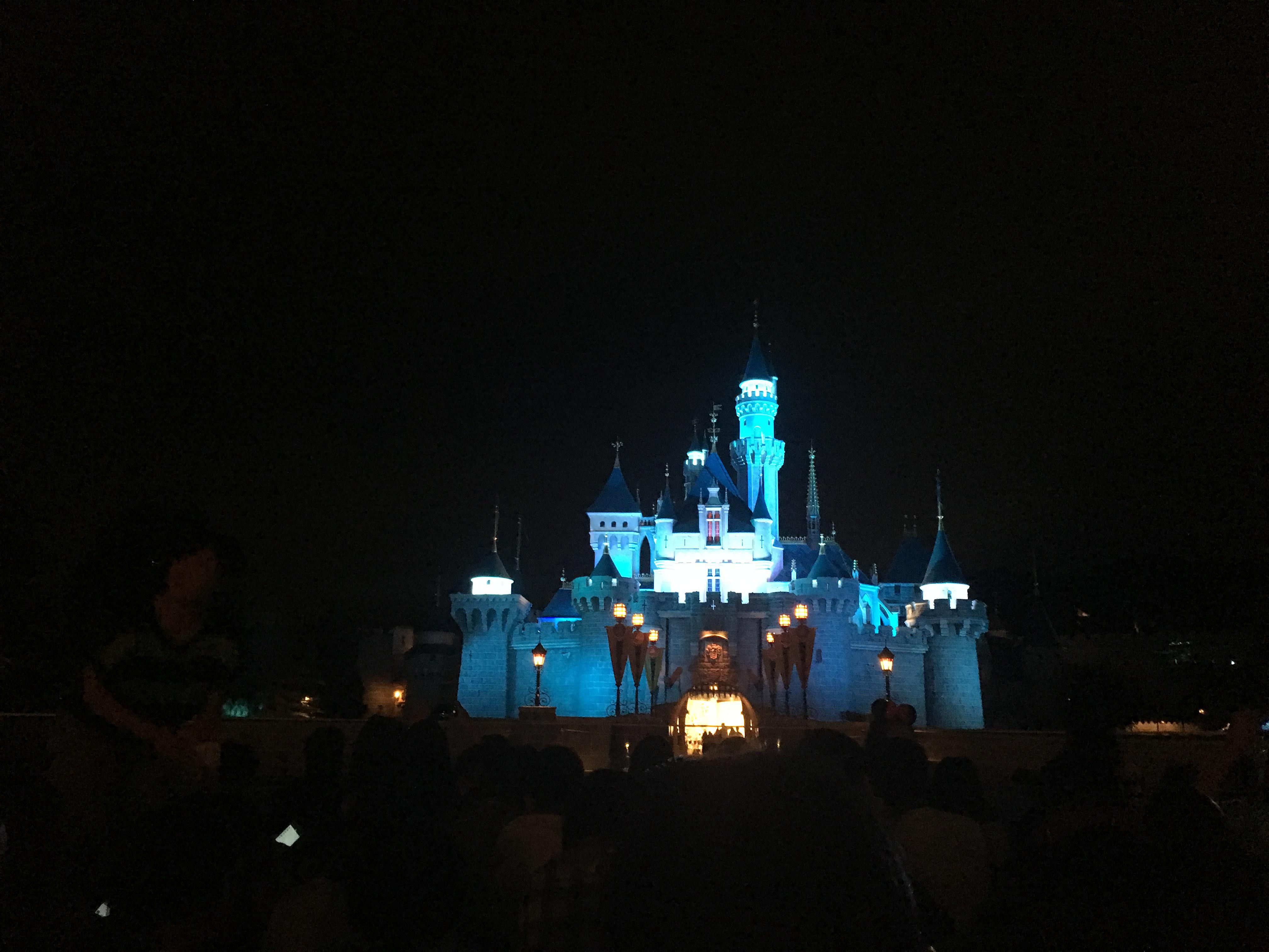 迪士尼睡公主城堡